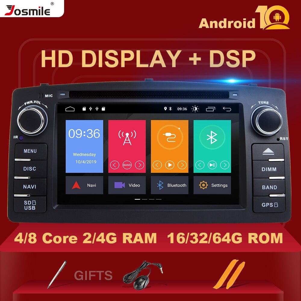 8 núcleo dsp 4 gb 64g 2 din android 10 leitor de dvd do carro para toyota corolla e120 byd f3 carro multimídia estéreo gps autoradio navegação
