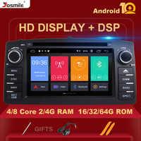 Reproductor de DVD de coche 8 núcleos DSP 4GB 64G 2 Din Android 10 para Toyota Corolla E120 BYD F3 estéreo de coche GPS AutoRadio navegación