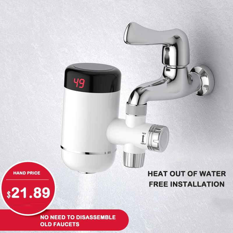 Installation-free Electric Hot Water Faucet That Is Hot And Fast Hot-connected Small Kitchen Treasure Tap Water Heater Household