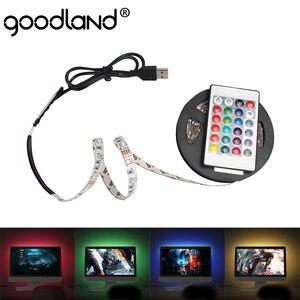 LED Strip USB LED Light Strip DC5V RGB Diode Tape Flexible Neon Strip Ribbon LEDstrip 50CM 1M 2M 3M 4M 5M Backlight For TV