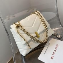 Luxury Designer Chains Crossbody Bags For Women Fashion Diamond Lattice Shoulder Bags 2020New Soft Women Messenger Bags Totes