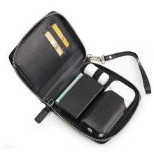 Mode Rits Flip Leer Voor Iqos 2.4 Plus Tas Accessoires Voor Iqos Ii Case Met Card Slot