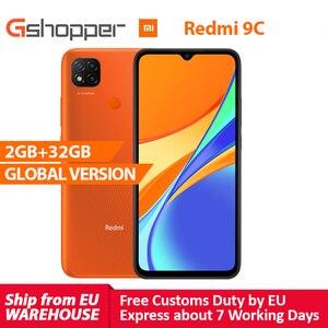 "Global Version Redmi 9C 2GB 32GB Octa-core CPU Smart phone 13MP AI Triple Camera 6.53"" Large Display 5000mAh Battery"