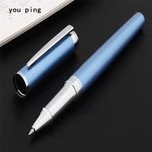 Pen Rollerball Office-Stationery Business 007 Medium-Nib Blue School Student High-Quality