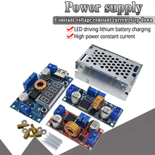 Batería de litio de 5A 12A CC a CC CV, placa de carga reductora, convertidor de potencia, módulo de reducción de cargador de litio Led Original