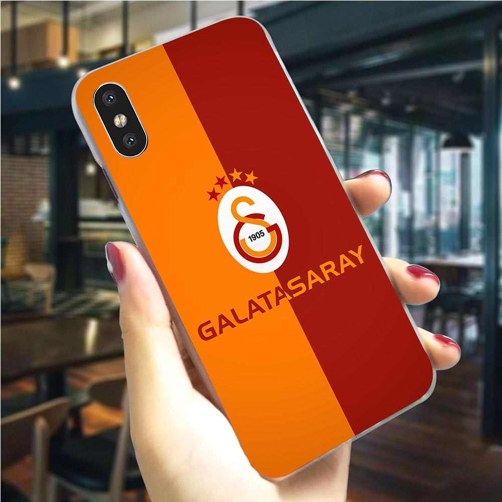 Ultra Dunne Turkije Galatasaray Telefoon Cover Voor iPhone 8 Plus Case 5 5S SE 6 6 S/6 6S Plus 7 8/7 Plus X XS XR Xs Max Hard Cover