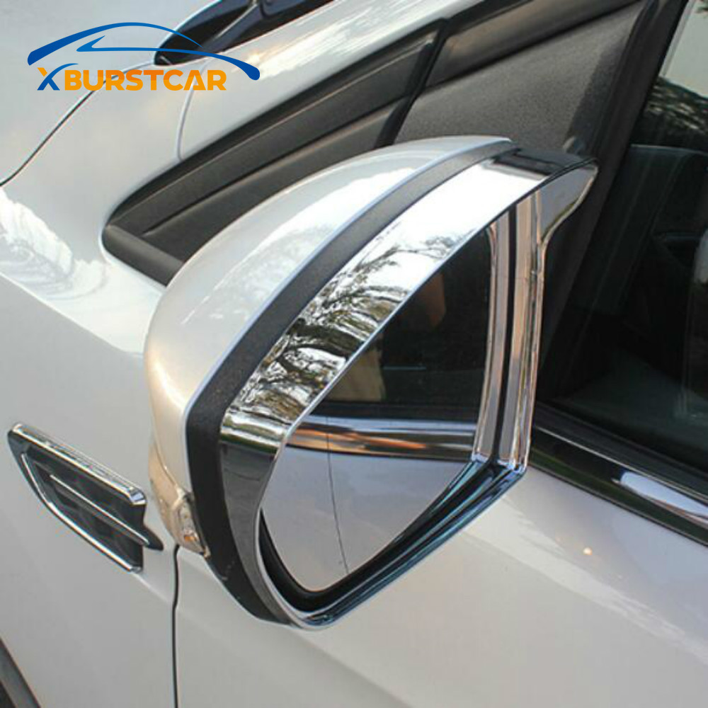 Автомобильный Стайлинг крышка зеркала заднего вида Rain Shield козырек для Ford Ecosport 2012 - 2019 Kuga Escape 2014 - 2019 автомобильный аксессуар