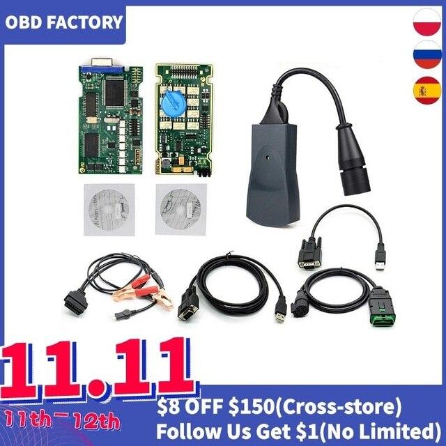 Dourado completo chips lexia3 3 921815c firmware diagbox v7.83 lexia3 pp2000 v48/v25 lexia 3 para a ferramenta de diagnóstico do carro