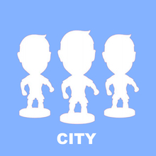 Football Soccer Star CITY Home 6.5cm Height Resin Dolls Action figure Player Toys