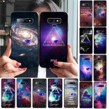 Phone Case Do Not Touch Black TPU Soft Phone Cover for Samsung S9 plus S6 edge plus S7 edge S8 plus S10 plus(China)