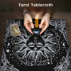 Tarot Tablecloth High-grade Thick Tarot Divination Cards Table Cloth For Magicians Daily Board Games 49*49CM