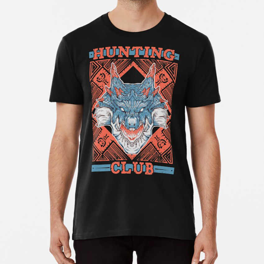 Hunting Club : Lagiacrus Tเสื้อHunter Monster HunterเกมLagiacrus
