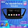 2dinアンドロイド 9.0 ヒュンダイverna 2016-2018 ナビゲーションgps muitimediaビデオプレーヤーオーディオラジオ 2DIN dvdプレーヤー