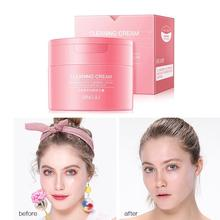 Skincare Makeup Cleansing Cream Mild Deep Cleaning Eye Remover Skin Care Face Cleansing Cosmetics Balm Quick Lip Dissolve W0E2