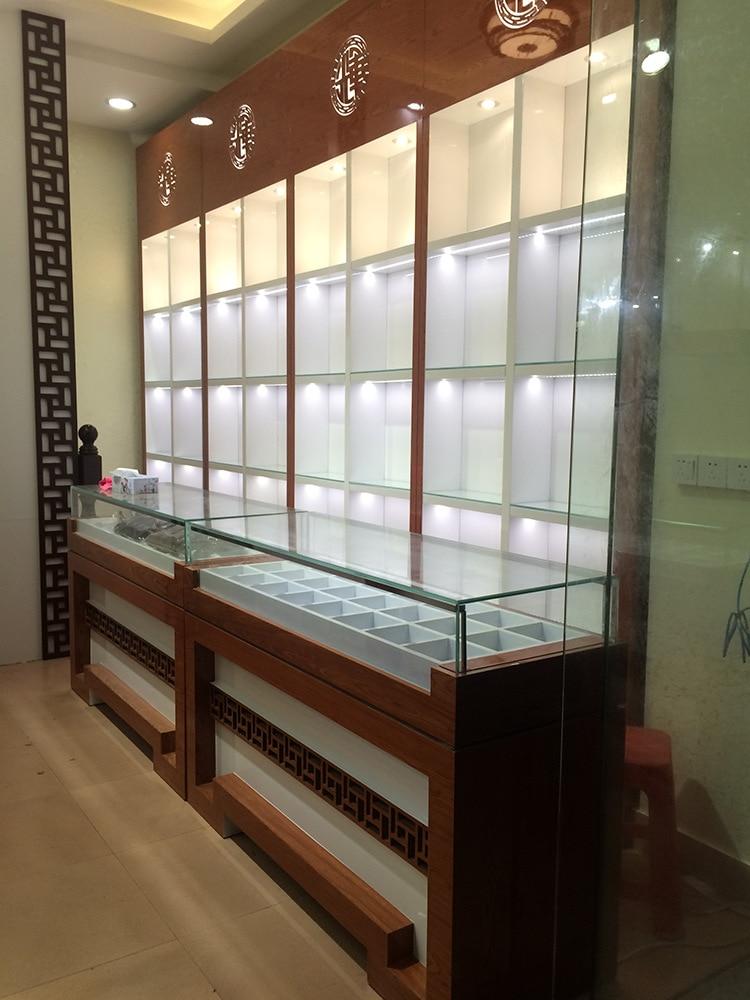 Foshan Kaierda Top Grade Jewelry Showcase Baking Varnish For Making Showcase Veneer Showcase Manufacturers Customizable
