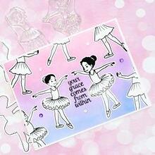 Металлические режущие штампы и для танцев балерины скрапбукинга