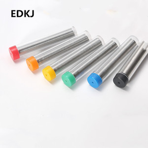 Color random 1.0mm 40/60 Tin/Resin Flux Rosin Core Solder Soldering Wire & Pen Tube Dispenser Tin Lead Core Soldering Wire Tool