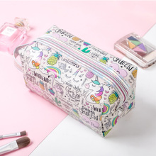Pouch Makeup Cosmetic-Bag Jelly-Bag Fashion Cute Travel Small Portable Wholesale Women