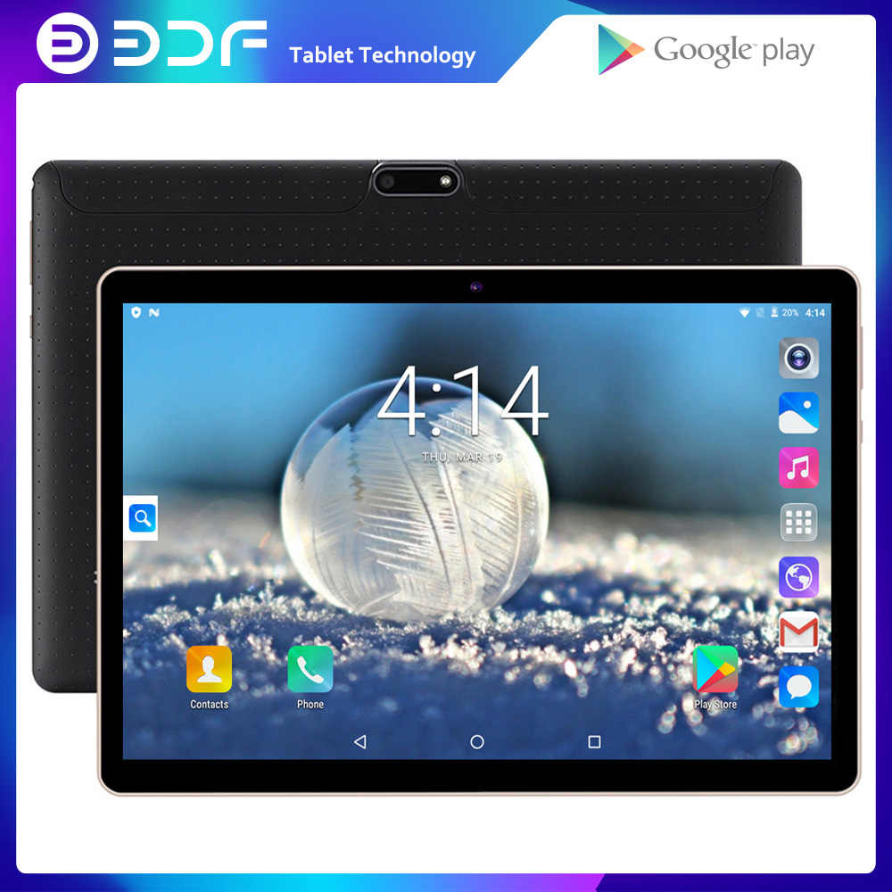 Baru Asli 10 Inci Tablet PC Ponsel 3G Call Quad Core Pasar Google GPS WIFI FM Bluetooth 10.1 Tablet 1G + 32G Android 7.0 Tab