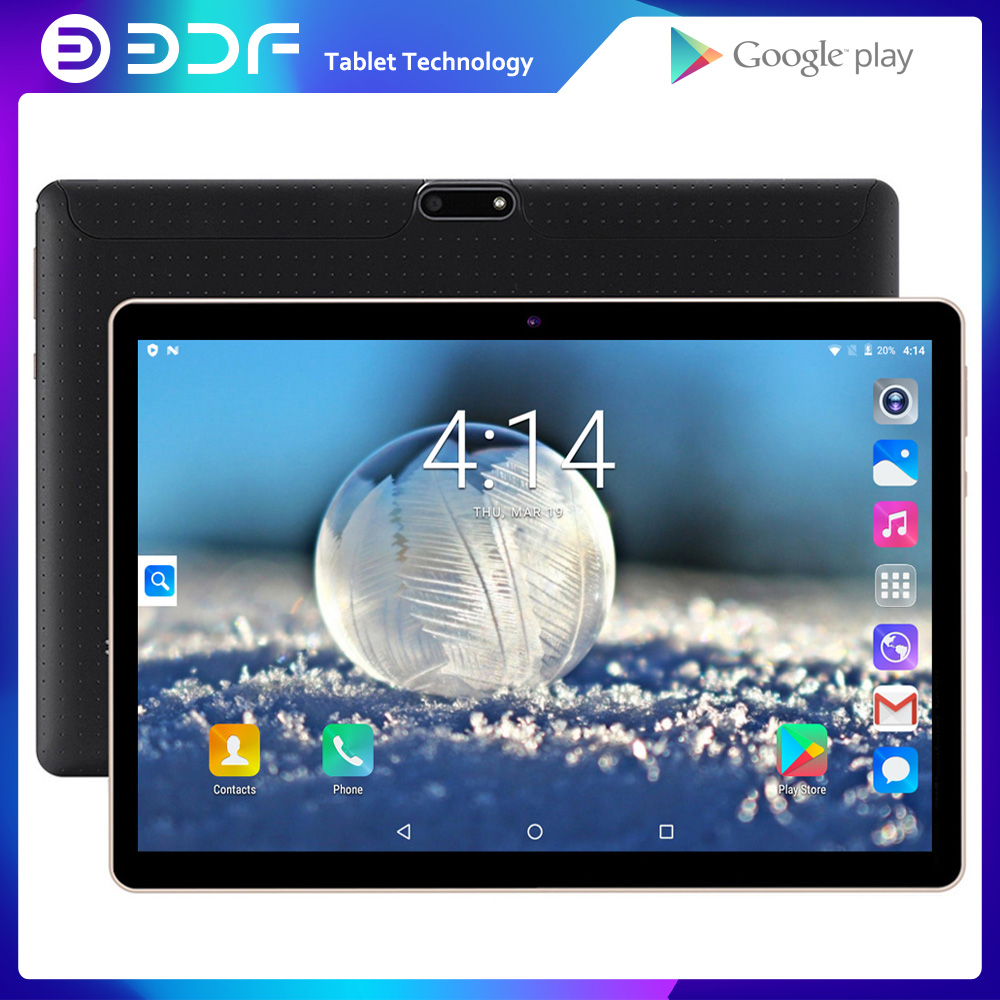 New Original 10 Inch Tablet Pc 3G Phone Call Quad Core Google Market GPS WiFi FM Bluetooth 10.1 Tablets 1G+32G Android 7.0 Tab