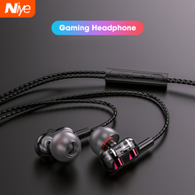 Wired Earphones Gaming Headset Bluetooth Sport No with