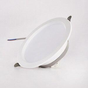 1 шт./лот интеграция high-end светодиодный-туман точечный потолочный светильник фон с огнями 5W7W AC185-245V SMD 5730 светодиодный локальный светильник