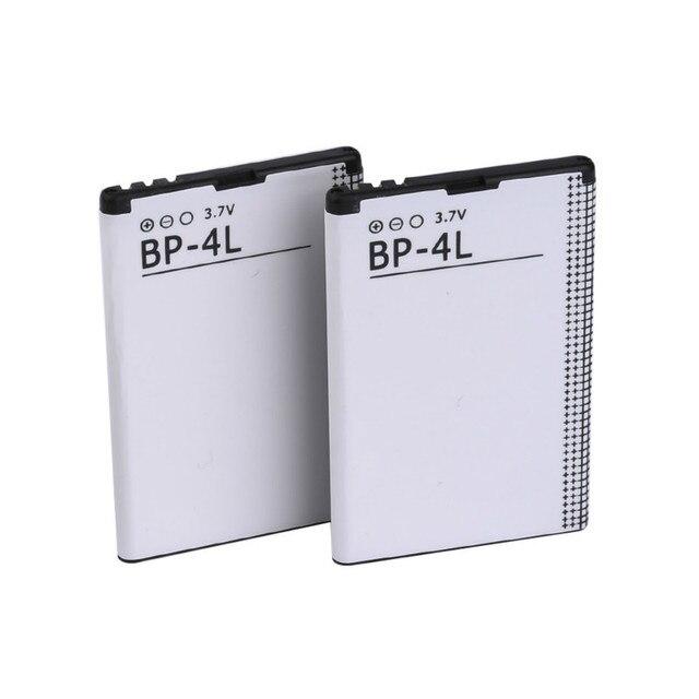 Faire Dot 10 PCS/LOT BP-4L Batterie Pour Nokia N97 E61i E63 E90 E95 E71 6650F N810 E72 E52 E55 E73 E95 Batterie BP4L