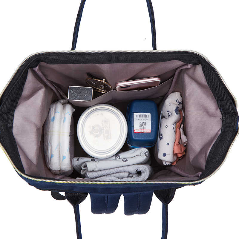 مومياء الأمومة الطفل أكياس حفاظات على ظهره مقاوم للماء ممرضة تغيير حقيبة الحفاض للأم أمي عربة طفل منظم المطبوعة