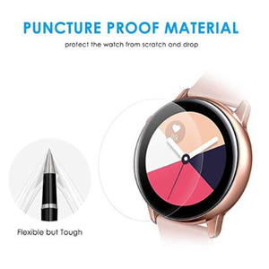 Image 4 - 5pcs TPU Soft Protective Film Guard For Samsung Galaxy Watch Active 2 40mm/44mm Active2 SmartWatch Screen Protector Full Cover