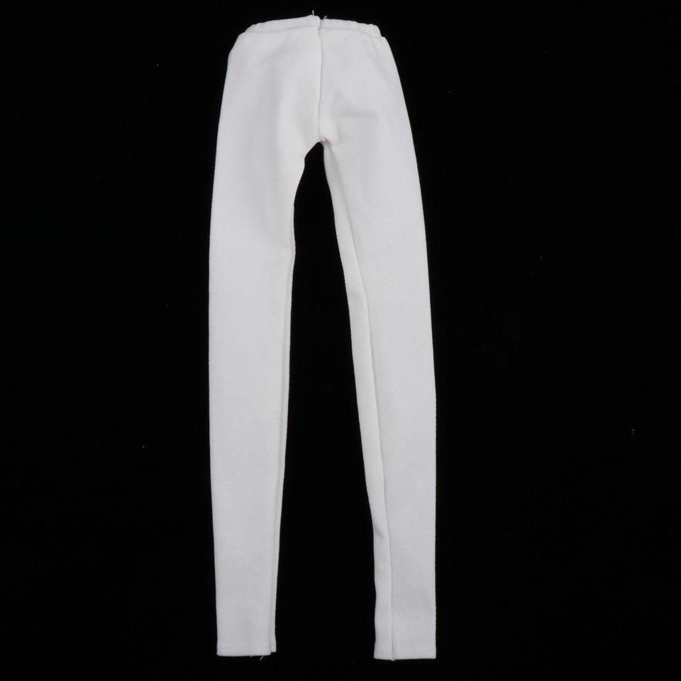 Girl White Skinny Jeans for 1//4 BJD MSD DOD AOD DZ Dollfie Doll