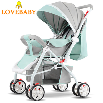 Baby Stroller 3 In1 High View Pram Landscape Baby Carriage 360 Rota Travel System 0-3 Y Lightweight 2 In 1 Luxury Baby Strollers imbaby high landscape lightweight baby strollers for travel plane baby carriages for newborns light baby prams baby pushchair