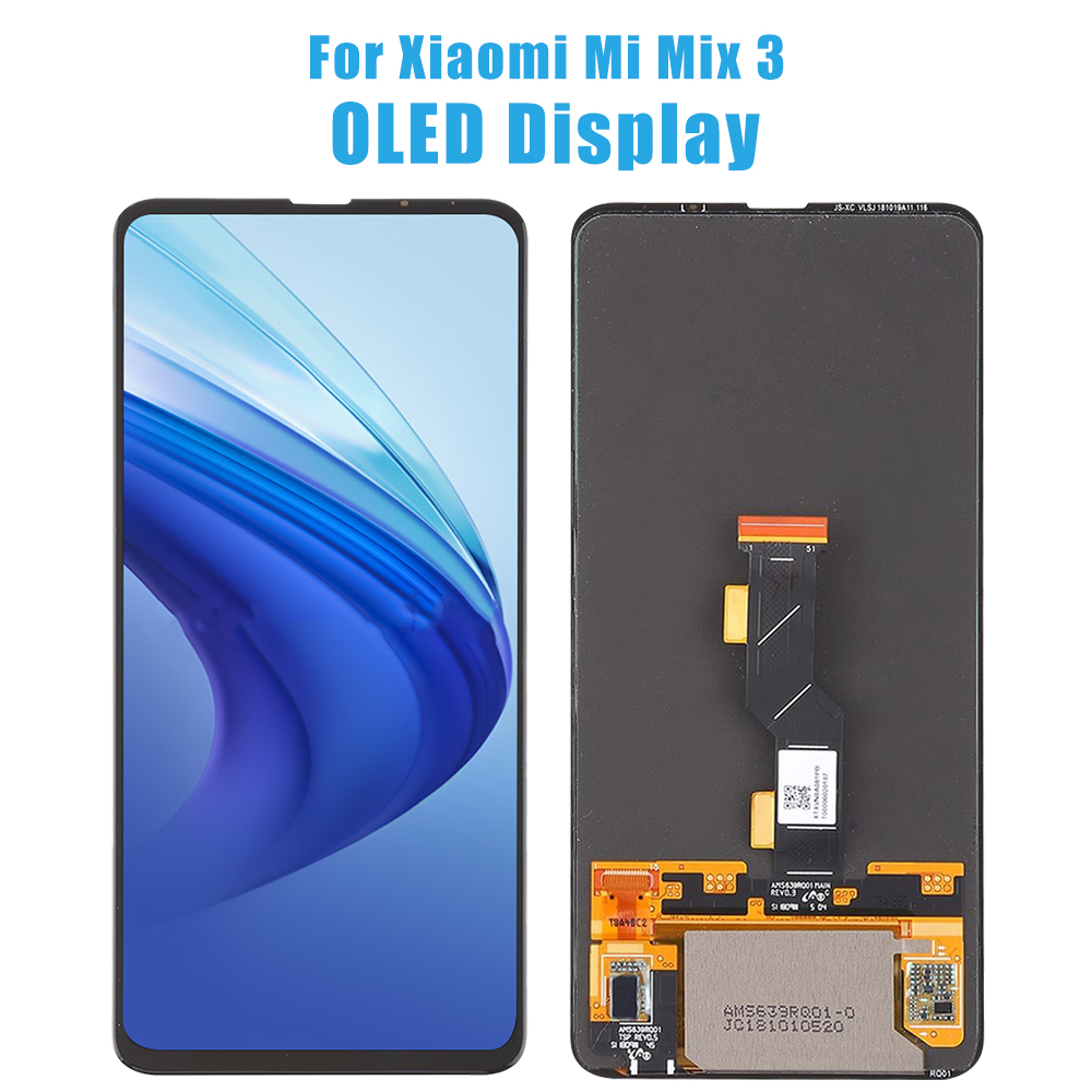 NEW Super AMOLED Screen Assembly Replacement For Mi Mix3 Mix 3 5G LCD Display