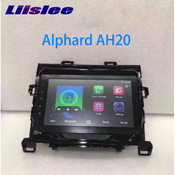 LiisLee Car Multimedia GPS Hi-Fi Audio Radio Stereo For TOYOTA Alphard AH20 2008~2015 Original Style Navigation NAVI