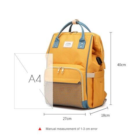 TUKATO Fashion Mummy Maternity Nappy Bag Brand Large Capacity Baby Bag Travel Backpack Designer Nursing Bag for Baby Care Karachi