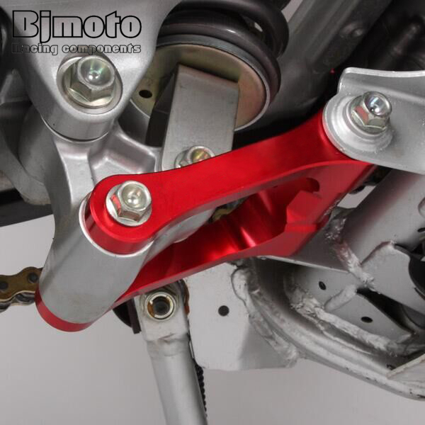 For Honda CRF250L 2013-2019 Red CNC Adjustable Lowering Link Links Kit Dirt Bike
