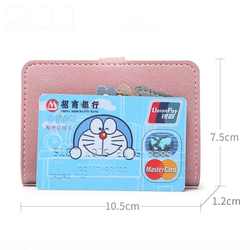 Cactus función 24 Bits tarjeta titular caso bolso nuevo Top de cuero mate mujeres chica tarjeta de crédito ID cubierta del pasaporte carpeta de la tarjeta
