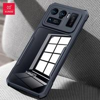 Xundd-funda para Xiaomi Mi 11 Ultra, carcasa a prueba de golpes, protectora transparente, Airbag, suave, funda de teléfono para Mi 11 Ultra