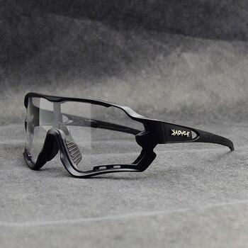 Photochromic ciclismo óculos de sol homem & mulher esporte ao ar livre óculos de bicicleta óculos de sol óculos de sol gafas ciclismo 1 lente 12
