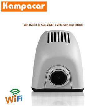 Kampacar WiFi Recorder Car Dvr Dash Cam Camera For Audi A4 A4L B7 A6 4F C6 2006 2007 B8 Q7 2008 A5 2009 2010 A3 2011 HD Car Dvrs - DISCOUNT ITEM  37% OFF All Category