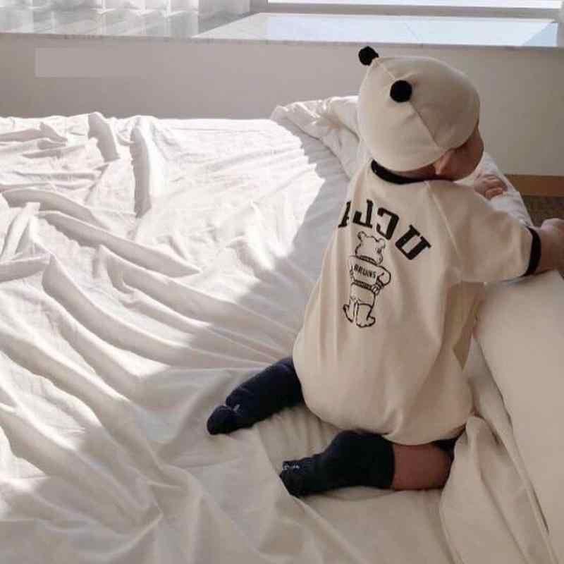 Baby Strampler 2020 Sommer Neue Kleinkind Kurzarm Baumwolle Romper Kleidung Neugeborenen Jungen Mädchen Overall Kleidung