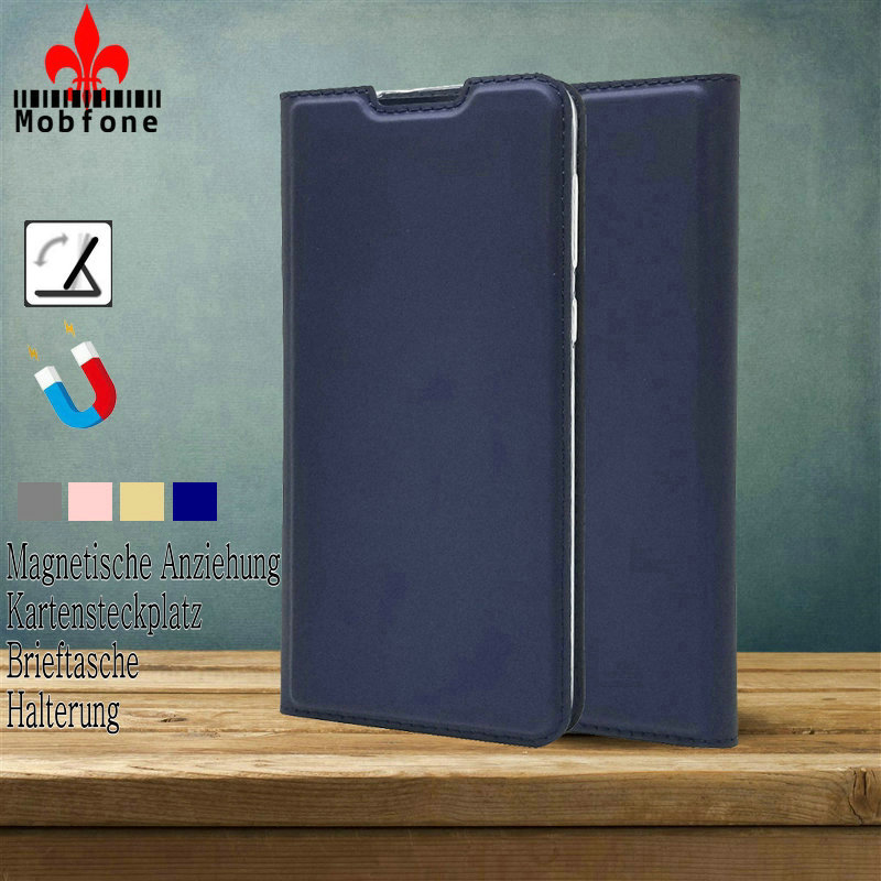 <font><b>Honor</b></font> 7C 5.7'' AUM L41 Luxury Wallet Leather Book <font><b>Case</b></font> <font><b>Honor</b></font> <font><b>8X</b></font> 8C 20 9X Pro Auto <font><b>Magnetic</b></font> Flip Closed Cover Mate 30 Lite Pro image