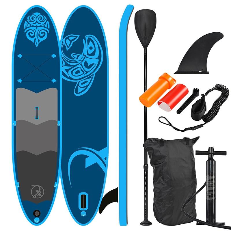 Sup330 levante-se placa de pá 330x76x15cm, azul-sup, prancha de surf, acessórios, pesca