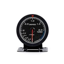 Boost-Gauge-Bar Car-Turbo Cnspeed 60mm Sensor Face-Turbo-Boost-Meter/car-Meter with White