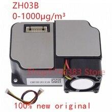 1 יח\חבילה ZH03B PM2.5 חיישן טווח אפקטיבי של לייזר אבק חיישן 0 1000