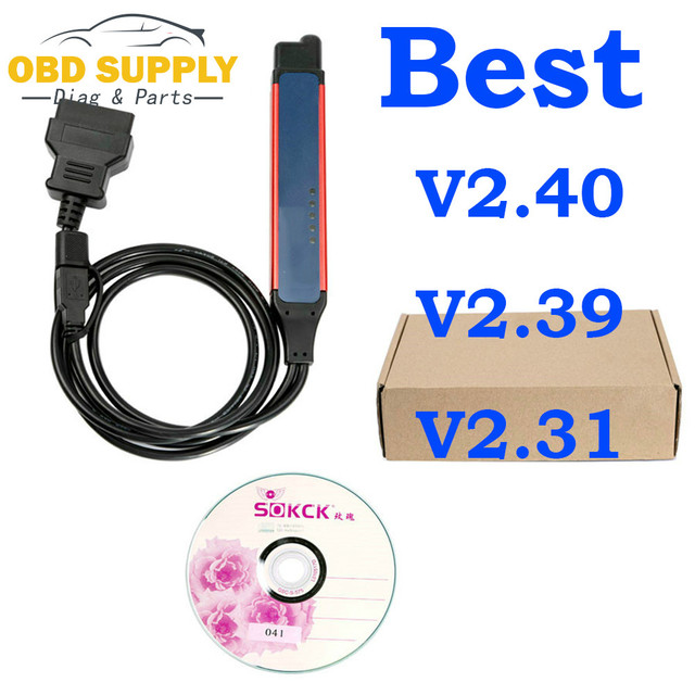 2019 Latest Vci3 V2.40.1 Truck Diagnostic Tool Vci3 SDP3 2.39 2.40 VCI3  OBD2 Connector VCI3 Wifi Wireless