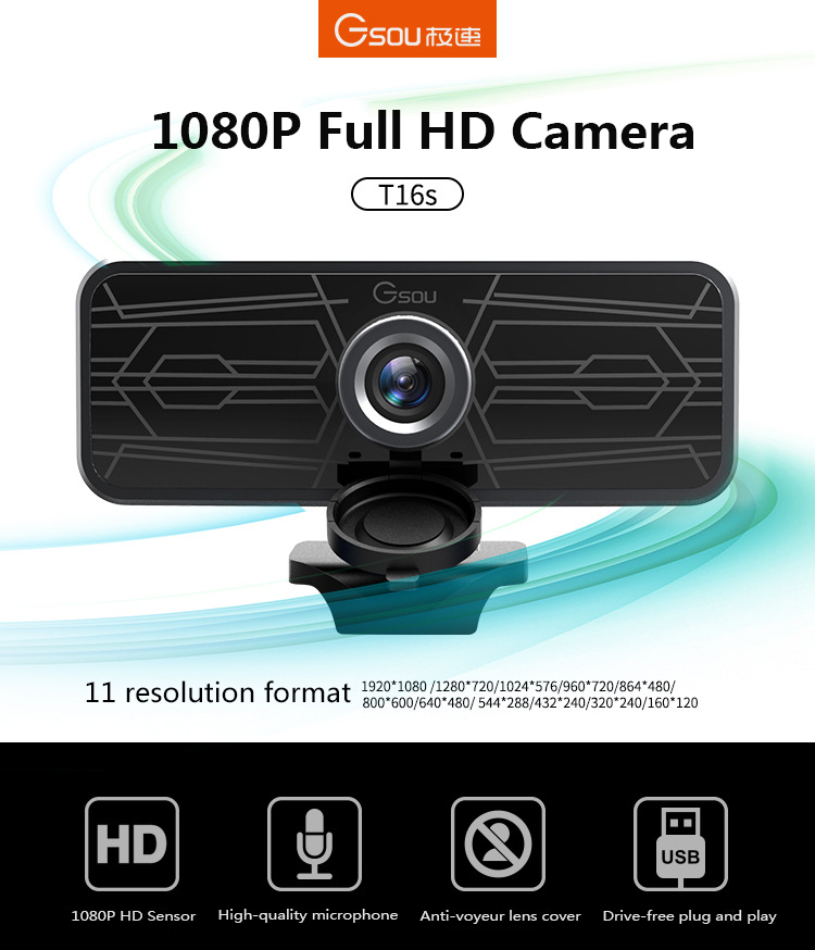 1080p autofocus webcam web camera support USB 2.0 PC Camera video Record call computer peripheral camera HD webcams desktop pc