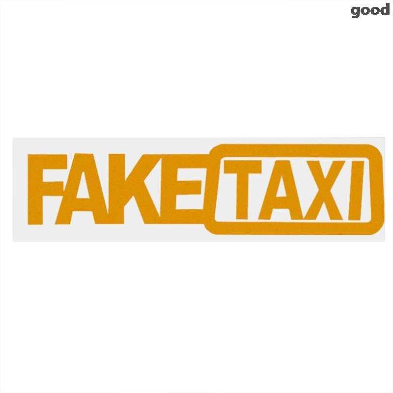 가짜 택시 자동차 스티커 반사 스티커 메르세데스 W204 W210 AMG 벤츠 Bmw E36 E90 E60 피아트 500 볼보 S80