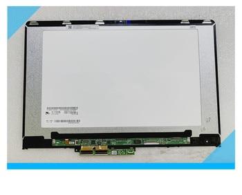 original 14'' LCD Touch Screen Digitizer Display + Bezel for  YOGA 710 14 YOGA 710-14IKB 80V4 80V4002NCD Assembly