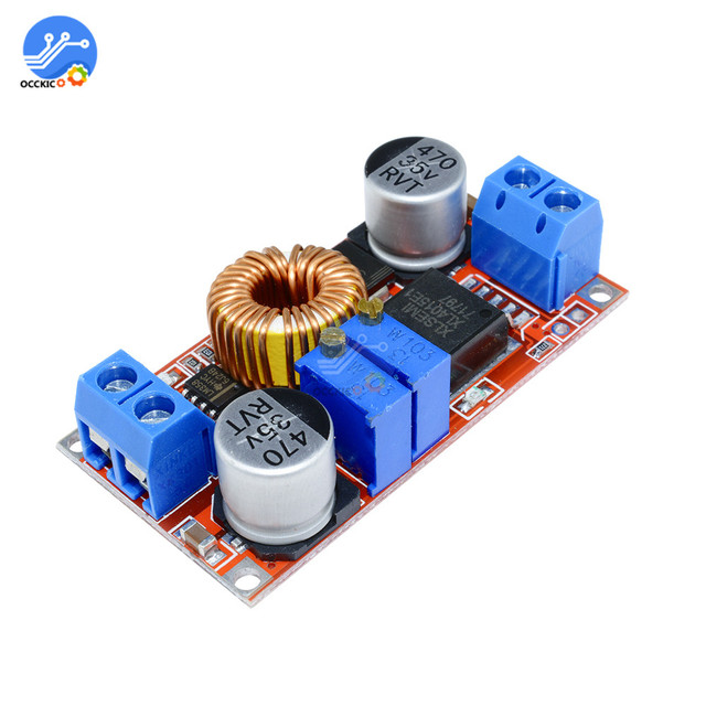 5A Dc Naar Dc Cc Cv Lithium Batterij Step Down Opladen Board XL4015 Adj XL4015 Adj Lithium Batterij Oplader Converter module