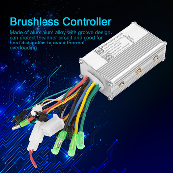 Electric Bicycle Accessories 36V/48V Electric Bike 250W/350W Brushless DC Motor Controller For Electric Bicycle E-bike Scooter 48v 60v dc 500w electric tricycle brushless dc gear motor 2800rpm e tricycle accessories bm1418zxf for tricycle motocycle car